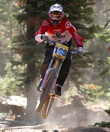 Cierra Smith racing at Northstar in 2008.