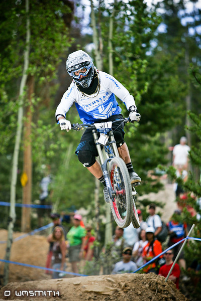Jon Wilson at the 2010 DH National Championships