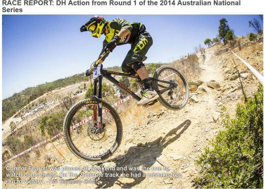 2014 Kona Carbon Operator dh bike